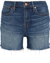 Madewell Distressed Denim Shorts - Mid denim