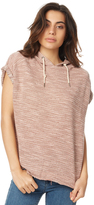 Rusty Bakery Sleeveless Hooded Top Pink