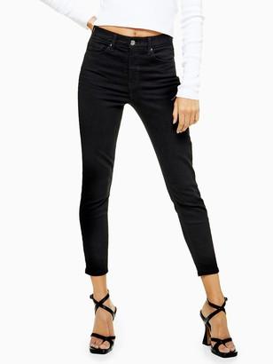 Topshop PetiteClean Jamie Jeans - Black