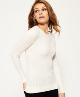 Superdry Luxe Mini Cable Knit Sweater
