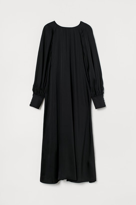 H&M Button-back Dress