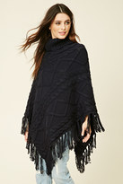 Forever 21 FOREVER 21+ Turtleneck Sweater Poncho
