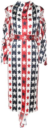 Hellessy stars and stripes dress