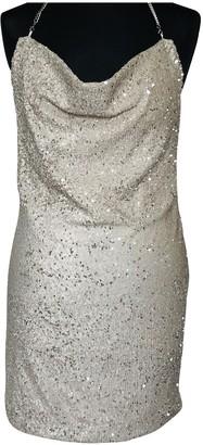 Topshop Tophop Gold Dress for Women