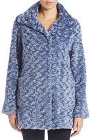 Eliza J Persian Faux-Fur Coat