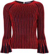 Alexander McQueen rope piped sweater