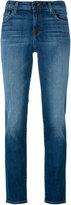 J Brand straight leg jeans - women - Cotton/Polyurethane - 27
