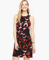 Ann Taylor Tall Tulip Halter Shift Dress