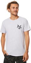 rhythm Peace Mens T Shirt Grey