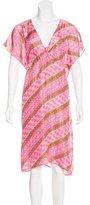 Figue Silk Printed Dress w/ Tags