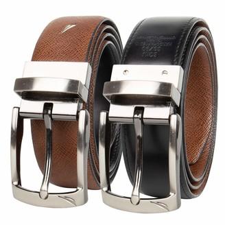 Nautica Men's Dress Leather Reversible Belt