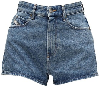 Diesel D-Isi High Waist Denim Shorts