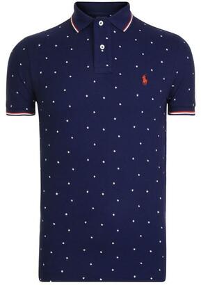 Polo Ralph Lauren Star Printed Polo Shirt