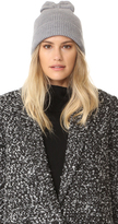 Kate Spade Solid Bow Knit Hat