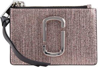 Marc Jacobs Small Metallic Zip Wallet