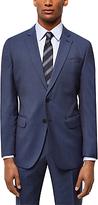 Jaeger Wool Hammerhead Regular Fit Suit Jacket, Chambray