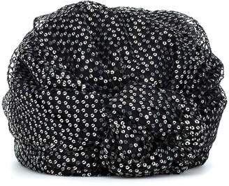 Maison Michel Hiromi sequined turban