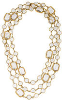 Chanel Crystal Station Necklace