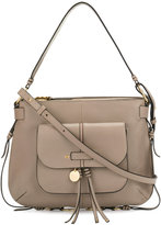 See by Chloe Olga shoulder bag - women - Cotton/Calf Leather/Calf Suede - One Size