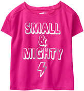Crazy 8 Bright Pink 'Small & Mighty' Tee - Infant, Toddler & Girls