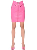 Moschino Leather Pencil Skirt
