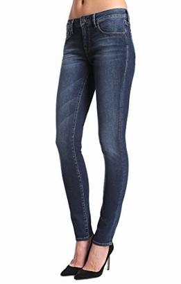 Mavi Jeans Adriana Petite Mid Rise Super Skinny