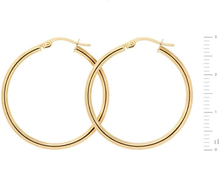 1bbfd5ae8 Plain Gold Hoop Earrings - ShopStyle UK