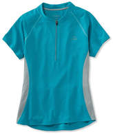 L.L. Bean Women's Comfort Cycling Jersey, Short-Sleeve