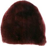 Marni rabbit fur hat - women - Rabbit Fur/Acrylic/Polyester/Wool - S