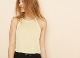 Garage High Neck Ringer Cami