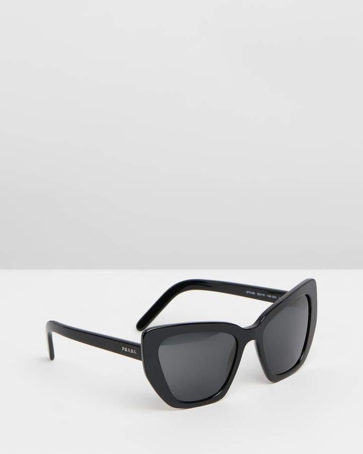 16540fed53ee0 Prada Grey Sunglasses For Women - ShopStyle Australia