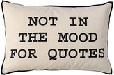 DAY Birger et Mikkelsen 'Not in the Mood for Quotes' Cushion Cover - 40x60cm
