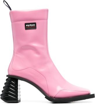 Eytys Gaia square-toe boots
