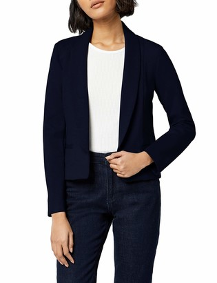 Meraki Women's Shawl Collar Fitted Blazer