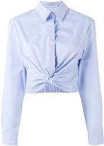 Alexander Wang cropped shirt - women - Cotton - 4