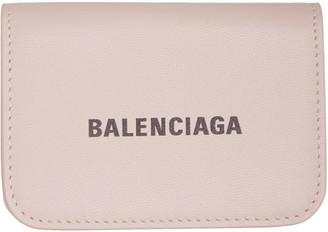 Balenciaga Pink Mini Cash Wallet
