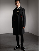 Burberry Resin Button Wool Greatcoat