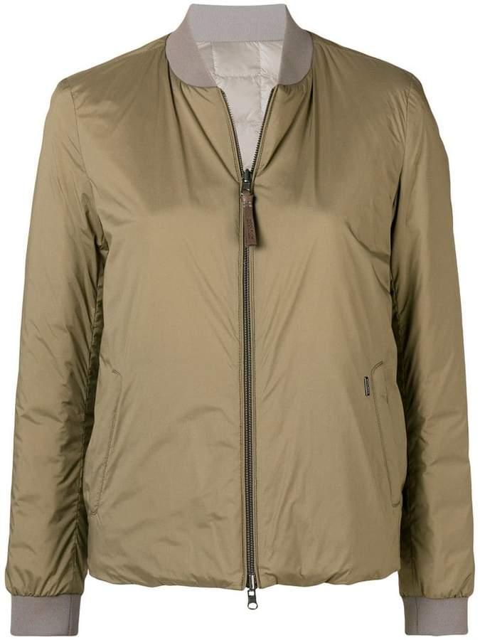 Woolrich reversible bomber jacket