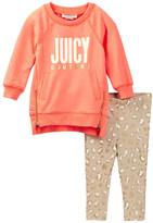Juicy Couture Tunic & Animal Print Legging Set (Baby Girls)