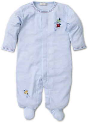 Kissy Kissy SCE Airplanes Embroidered Footie Playsuit, Size Newborn-9 Months