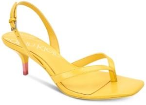 Calvin Klein Women's Monty Dress Sandals Women's Shoes