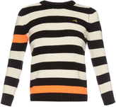 Bella Freud Cortina contrast-stripes cashmere sweater