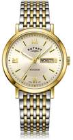 Rotary Watches Two Tone Gold Windsor Gents Watch