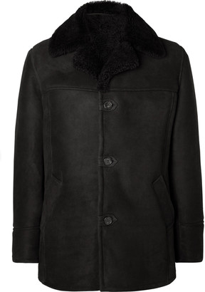 Kingsman Shearling Aviator Jacket
