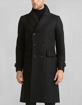 Belstaff New Milford Trench Coat Black