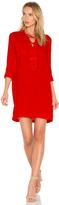 1 STATE Lace Up Pocket Dress