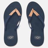 UGG Women's Magnolia Flip Flops Navy