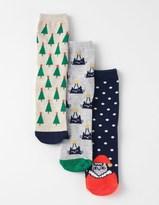 Boden 3 Pack Festive Socks