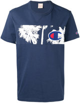 Champion palm tree panel T-shirt - men - Cotton - L