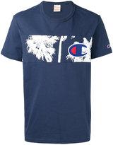 Champion palm tree panel T-shirt